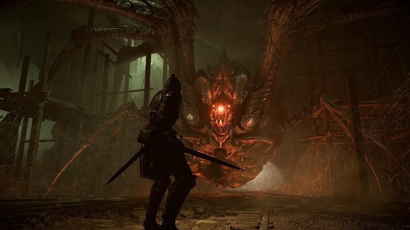 Demon's Souls Remake PlayStation 5 3 Да где этот босс