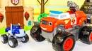 Вспыш и чудо машинки все серии подряд Мультики про машинки Игрушки для детей Монстр Траки Мультфильм