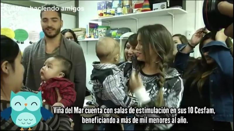 Maluma y Lali visita solidaria otras imagenes