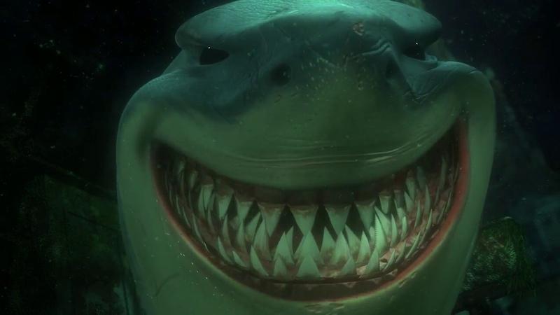 Нападение акул В поисках Немо 2003 Finding Nemo