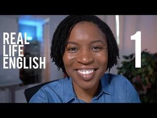 REAL LIFE ENGLISH   Speak English Like A Native Speaker Episode1