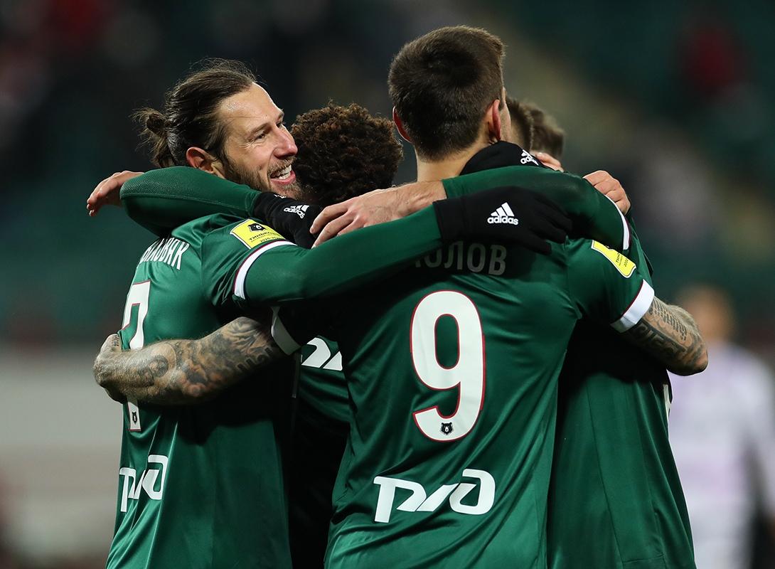 Локомотив - Уфа, 1:0