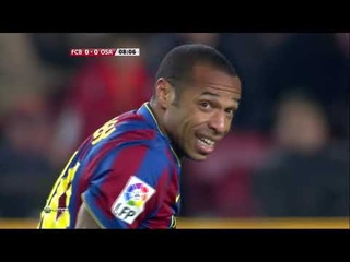 Season 2009/2010. FC Barcelona - CA Osasuna - 2:0