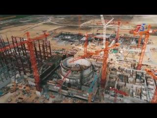 Курская АЭС-2: самая высокая градирня