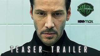 THE MATRIX 4  Teaser Trailer Concept (2021) Keanu Reeves, Jessica Henwick Action Deepfake Movie