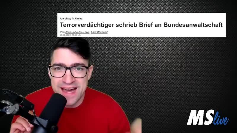 ‼️ Unfassbar Der Staat wusste seit November vom Manifest des Killers Hanau 720p 30fps H264 128kbit AAC