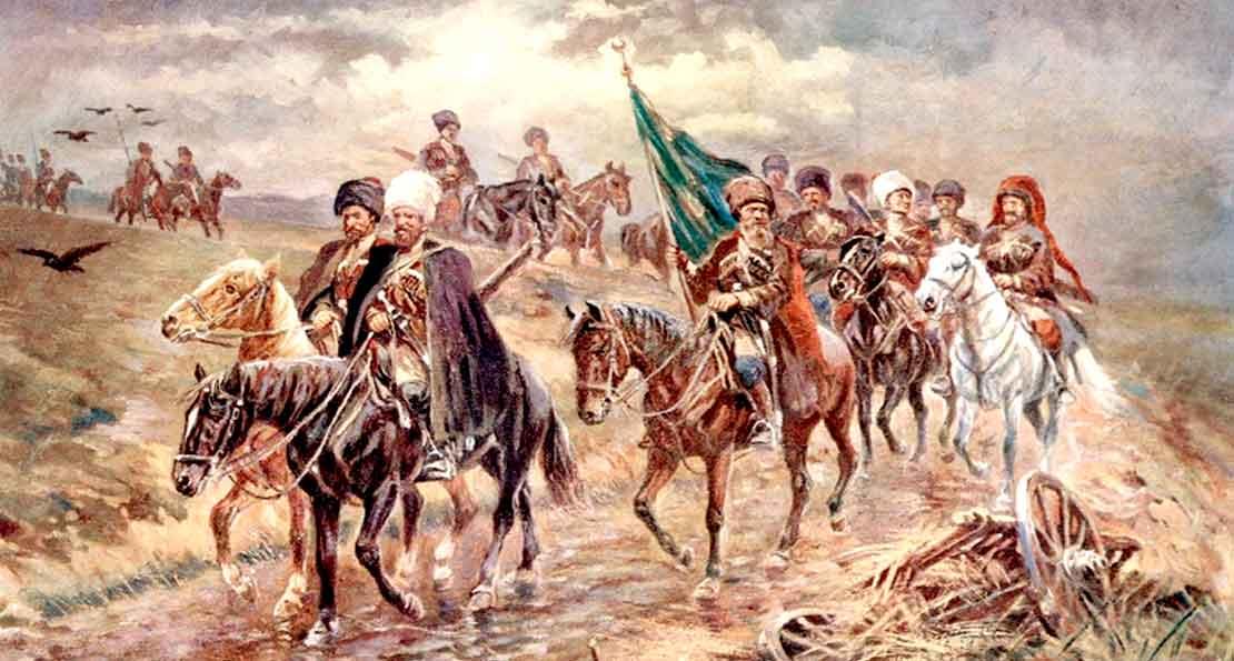Наибы Шамиля в походе
