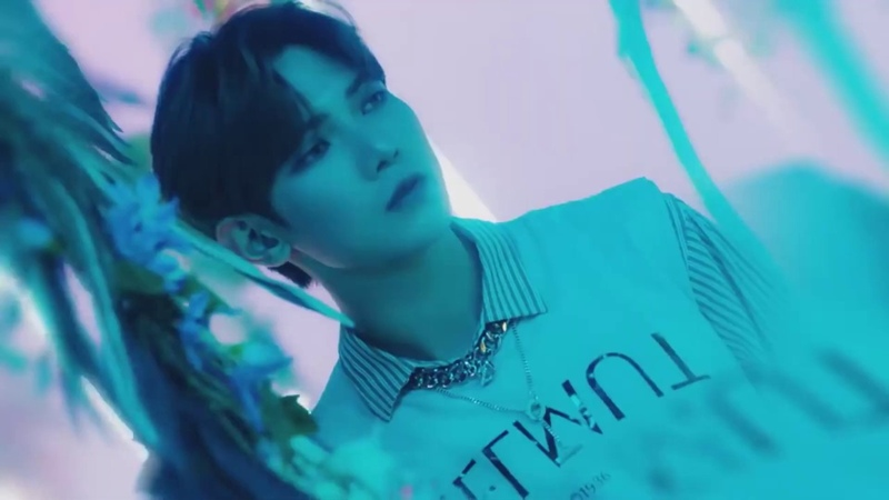 Ateez's music videos but there are only shots with yeosang