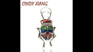 Cindy xiang винтажные эмалированные броши в форме жуков из сплава для женщин и мужчин, креативные значки для насекомых, модные