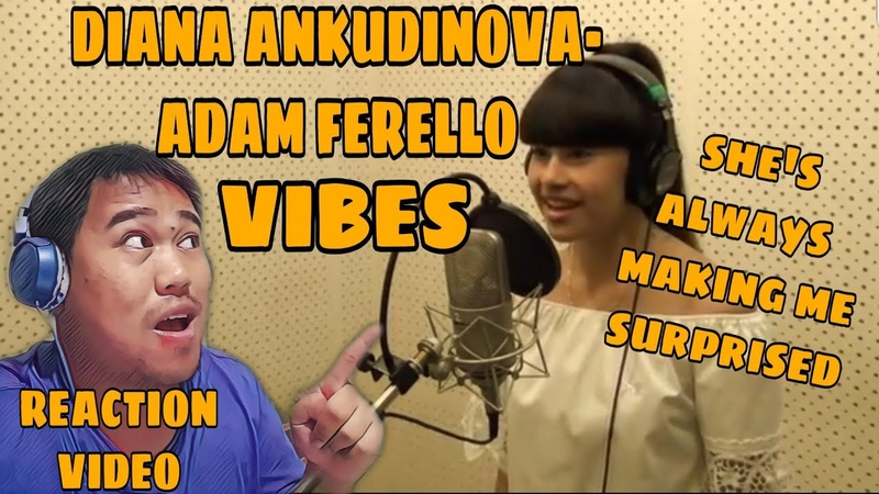 Диана Анкудинова Diana Ankudinova Adam Ferello Vibes Reaction Video