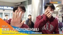 200126 NewsenTV CNBLUE Jung Yong Hwa @ Incheon Airport back from BKK