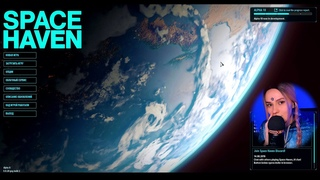 ASMR GAMING 👩🚀 РАССЛАБЛЯЮЩИЙ SPACE HAVEN