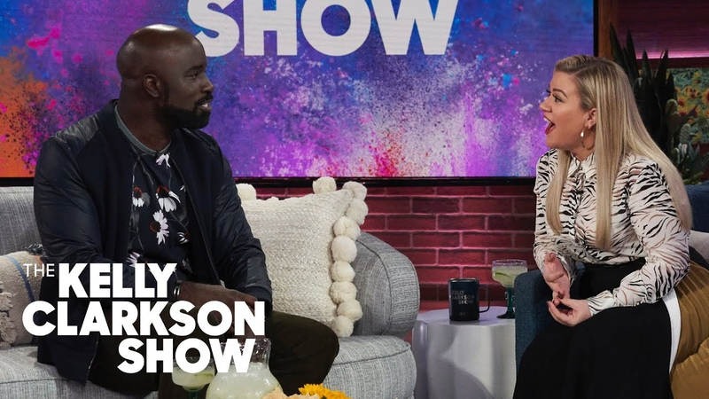 Mike Colter Now Firmly Believes In Palm Reading | The Kelly Clarkson Show