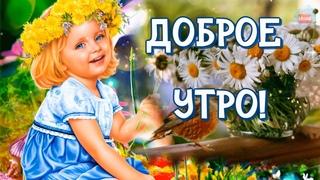 ☕ Пожелание С Добрым Утром! Хороших новостей, отличного самочувствия, улыбок и радости!😊