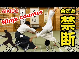 Is he a Ninja? Amazing! Aikido special counter techniques