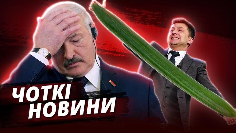 Крах Лукашенко Огірок Зеленського та Приниження Соловйова ЧОТКІ НОВИНИ