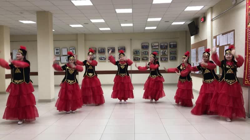Нур Алтай танец Кыз бала гул