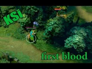 KSi first blood VP vs LIQUID