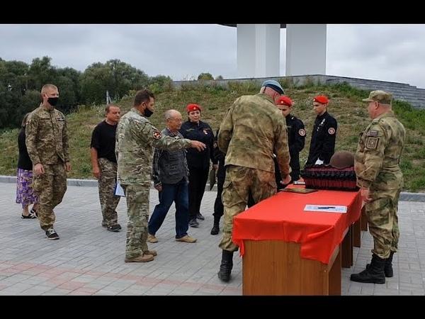 Сын дождался отца с войны Как на российско украинской границе передавали останки красноармейцев