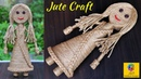 How to make a Baby Doll from Jute Rope Creative Jute Showpiece Craft Doll Decoration Idea