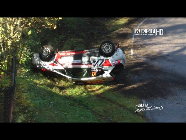 Minirallijs Latvija 2020 Crash Many Mistakes Witch Kettle Action Close calls