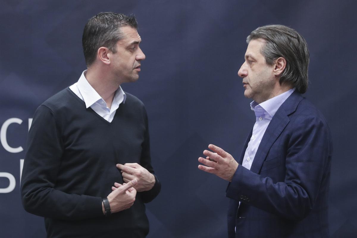 Ашот Хачатурянц и Виктор Кашшаи