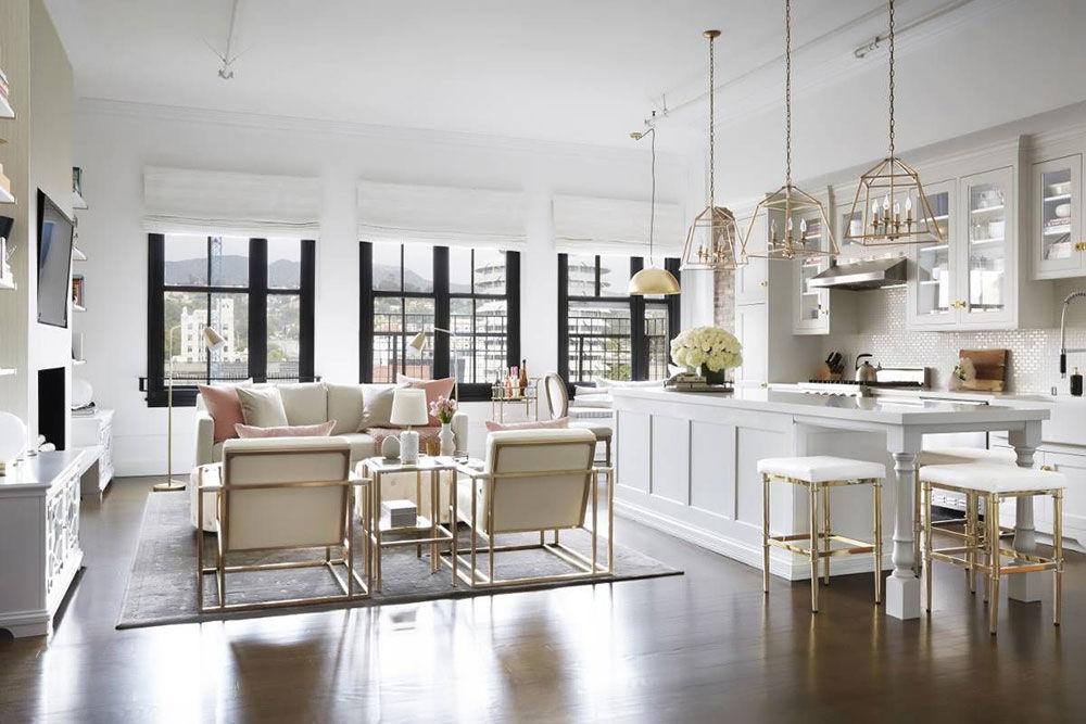 Нежный лофт: светлая квартира американской модели Olivia Culpo в Голливуде