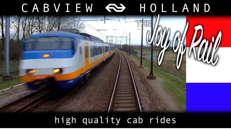 Amsterdam - Haarlem - Alkmaar CABVIEW HOLLAND SGM 14mrt 2020