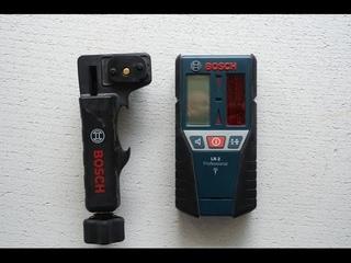 Bosch LR2 обзор приёмника  лазерного луча