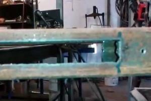 Калитка из металлопрофиля своими руками – схема + порядок выполнения работы, изображение №45