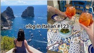 vlog in Italian #123: fuga a Capri