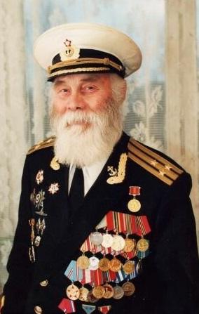 Командир бригады 69-й бригады подводных лодок, капитан 1-го ранга Виталий Наумович Агафонов