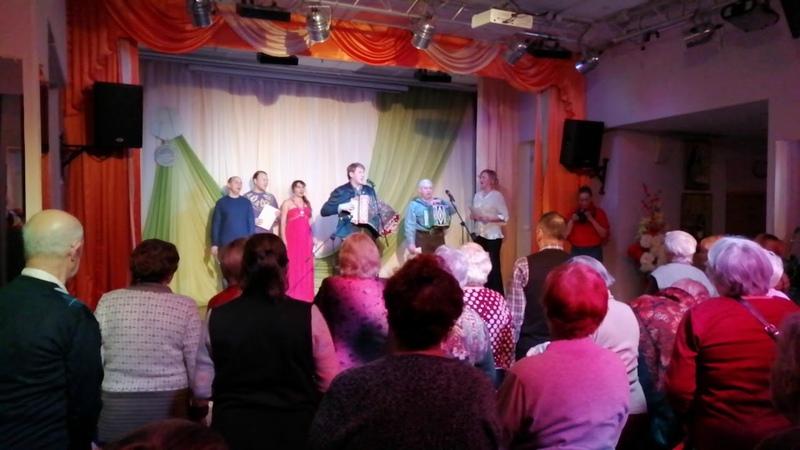 И. Шипков и участники фестиваля - Ладога (24.01.2020).
