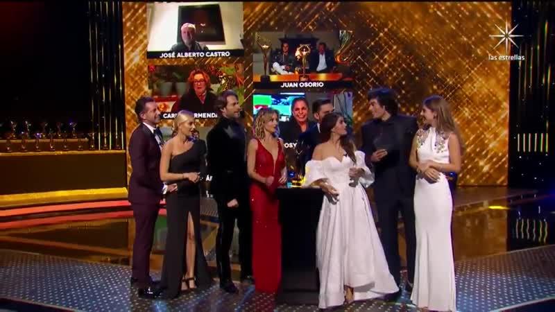 Premios TVyNovelas 2020 Лучшая теленовелла