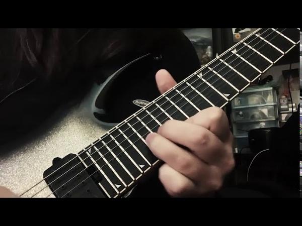 Revocation Of Unworldly Origin Guitar solo by iliam