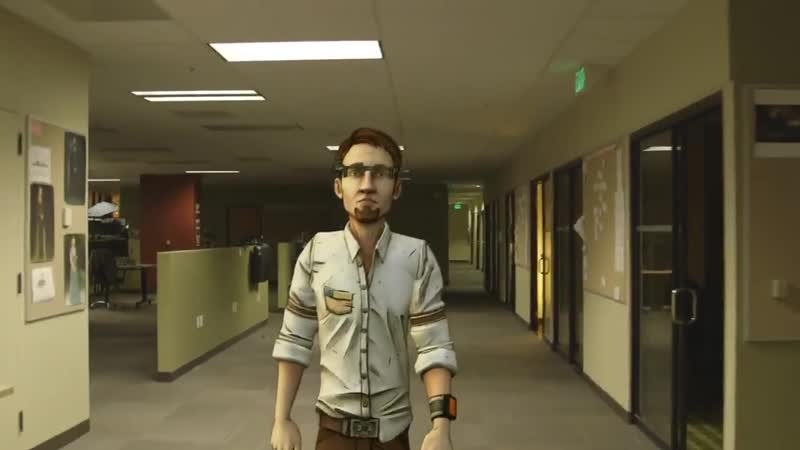 Vaughn in Telltale Games office TFTB