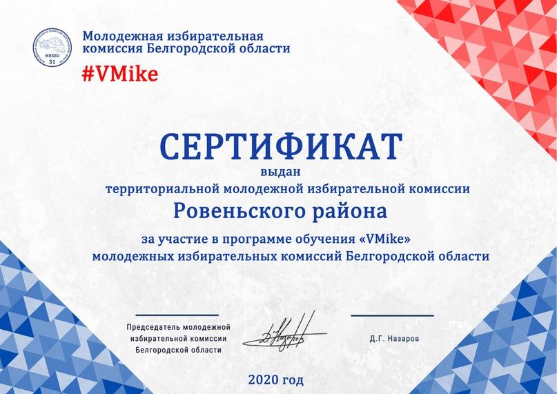 Итоги программы обучения молодежных избирательных комиссий Белгородской области «VMike», изображение №20