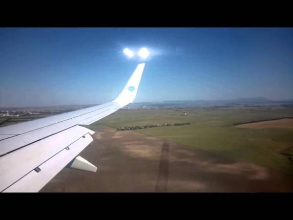 Керченский пролив с высоты из самолета 2015г без моста