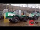 Испытание трактора Т-150 после капитального ремонта.