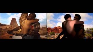 Bound 2/Bound 3 Split Screen MashUp (James Franco, Seth Rogen, Kanye West, & Kim Kardashian)
