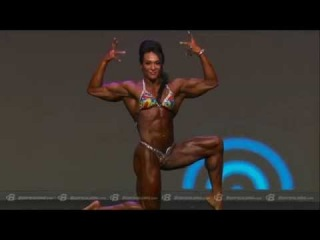 Top 3 Posing Routines: Ms. Olympia 2nd Place - Alina Popa