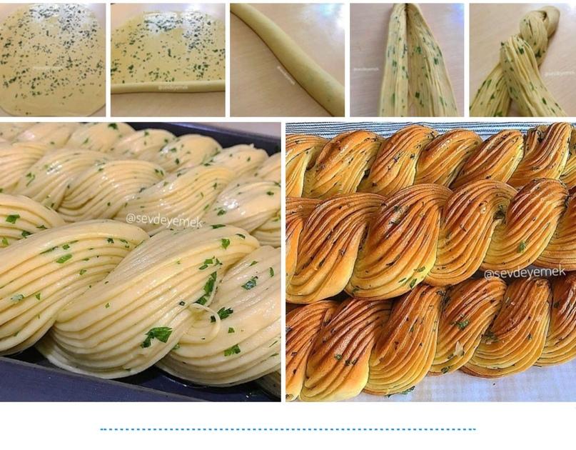 Рецепт домашнего хлеба с чесноком