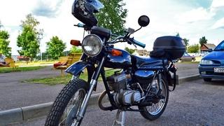 Обзор мотоцикла Минск после реставрации. Ремонт ценой в 2 мотоцикла