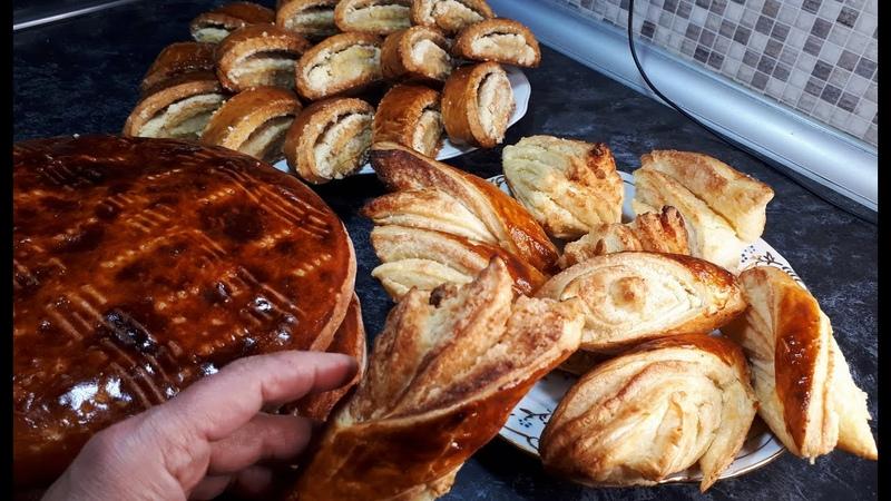 Три Рецепта Самая Лучшая Выпечка к чаю Армянская Гата любят все 3 Recipes tasty Pastries for tea