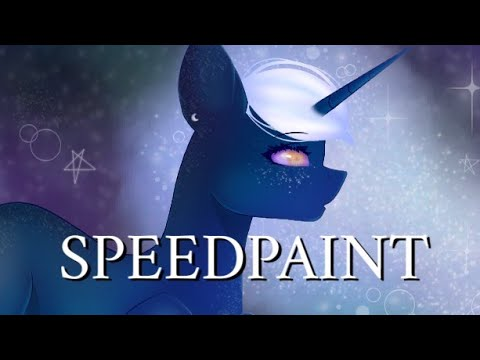 Space Rise MLP Speedpaint random oc • Bibi •