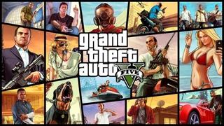 Стрим Grand Theft Auto V//Полное прохождение//Бесплатная раздача на Epic Games Store