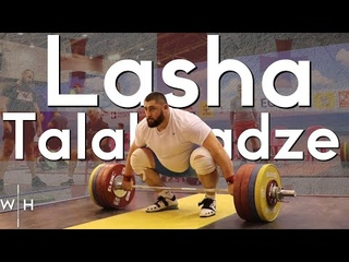 Lasha 200kg Snatches, 230kg Clean & Jerk, 285kg Back Squats | '19 Worlds Training Hall Heavy Session