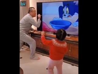 У этой девочки хороший отец