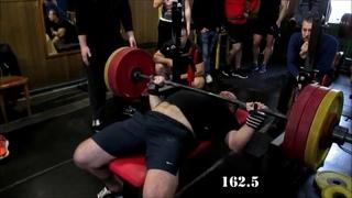 Атлет ТБ (Atlet TV)  змагання з жиму штанги лежачи 2018