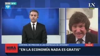 """Javier Milei: """"Argentina va directo a un desastre económico"""" - Luis Majul en Mirá lo que te digo"""